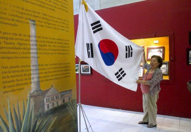 El Museo Conmemorativo de la Inmigración Coreana atesora objetos que dan testimonio de la llegada, hace 110 años, de cientos de personas que llegaron a Yucatán buscando un futuro mejor. (Notimex)