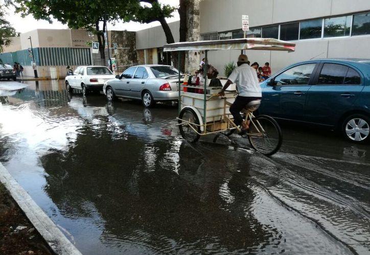 Pese a que se espera una lluvia intensa en gran parte del Estado, continuarán presentes las altas temperaturas. (Foto: José Salazar)