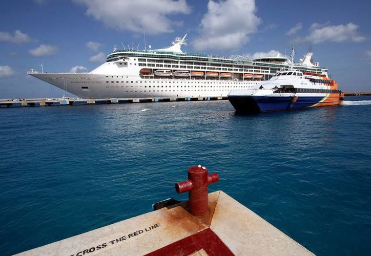 Se prevé la llegada de 17 cruceros a las costas de Quintana Roo, durante la tercera semana de junio. (Foto/Internet)