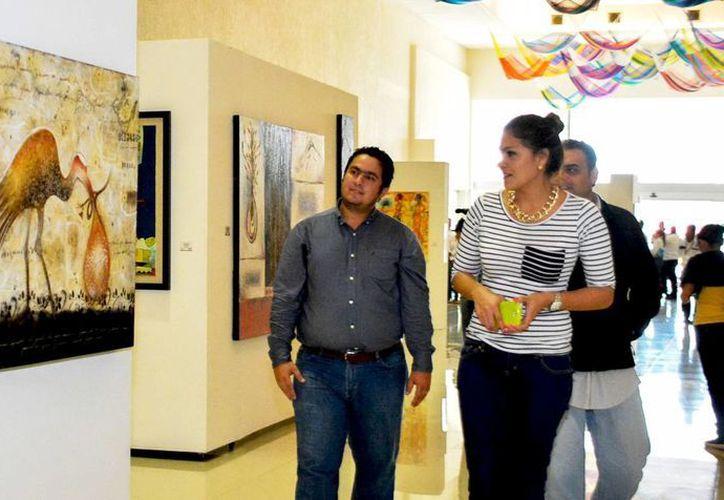 La exposición se inauguró en los pasillos del Centro de Convenciones de Siglo XXI en Mérida. (Milenio Novedades)
