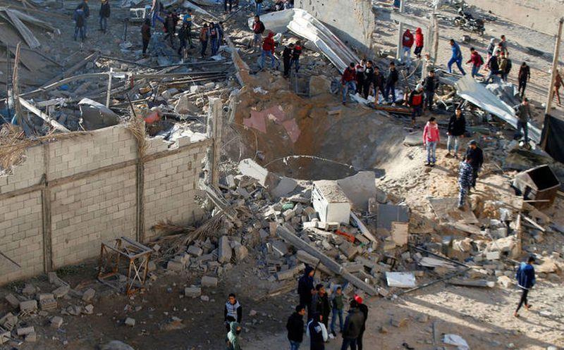 Dos palestinos muertos en enfrentamientos en la frontera con Gaza