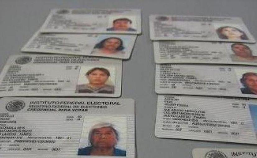 Las identificaciones que no se recojan en tiempo y forma, serán depositadas en una caja de seguridad hasta después de las votaciones. (SIPSE)