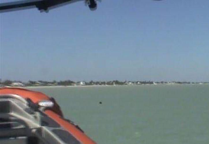 La Patrulla Oceánica que acudió al rescate llegó a Progreso este domingo a las 6:00 horas. (SIPSE)