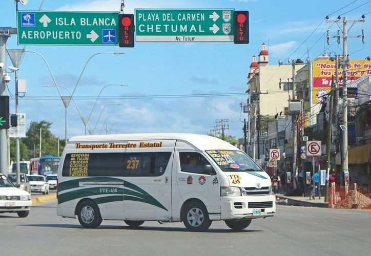 La ruta beneficia a habitantes del fraccionamiento Vista Real. (Jesús Tijerina/SIPSE)