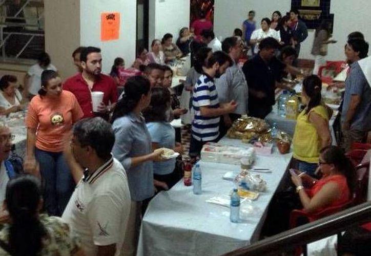 La participación juvenil destacó en los eventos en el Seminario (Milenio Novedades).