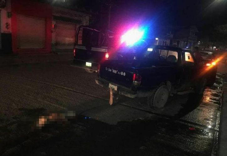 Un auto más estuvo involucrado en el delito y dos personas fueron detenidas. (Foto: Denuncia Ciudadana, Martínez de la Torre Veracruz).