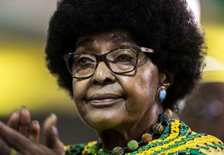 Madikizela-Mandela fue uno de los grandes iconos de la lucha contra el apartheid. (Gulshan Khan / AFP)