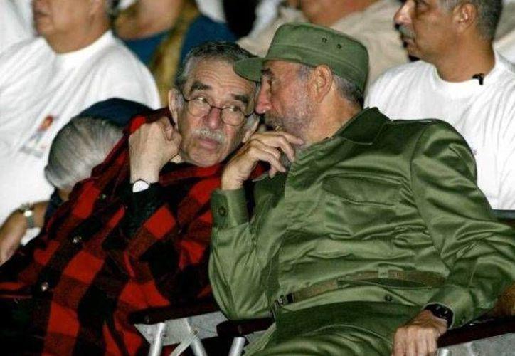 La amistad de Fidel Castro y García Márquez