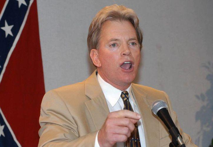 David Duke, ex dirigente del Ku Klux Klan, anunció que se postulará al Senado de Estados Unidos. (AP)
