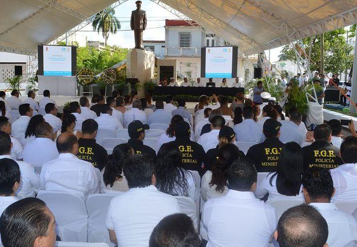 El 22 de enero de 1898 fue el día que fondeó en la bahía de Chetumal don Othón Pompeyo Blanco a bordo del Pontón Chetumal. (Joel Zamora/SIPSE)