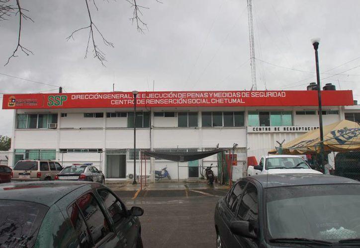 El programa contempla el mejoramiento de las instalaciones del cereso de Chetumal. (Redacción/SIPSE)