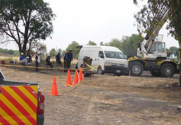 Elementos de Protección Civil y bomberos de la Ciudad de México viajaron a Guanajuato para realizar labores de rescate. (López Dóriga Digital)