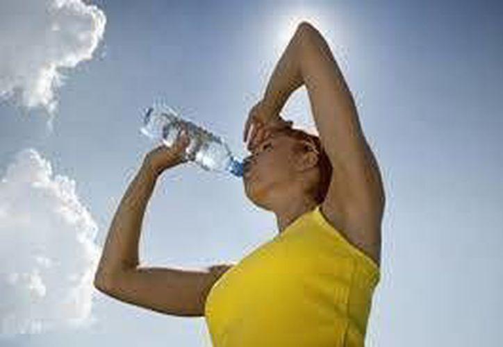 Durante esta época de altas temperaturas es recomendable mantenerse hidratados. (Contexto/Internet)