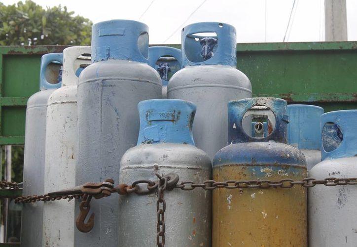 Las empresas gaseras ocuparon el tercer sitio en quejas. (Hugo Zúñiga/SIPSE)