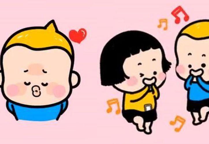 El nuevo paquete cuenta con 24 ilustraciones animadas del pequeño Yam. (Foto: El Comercio)