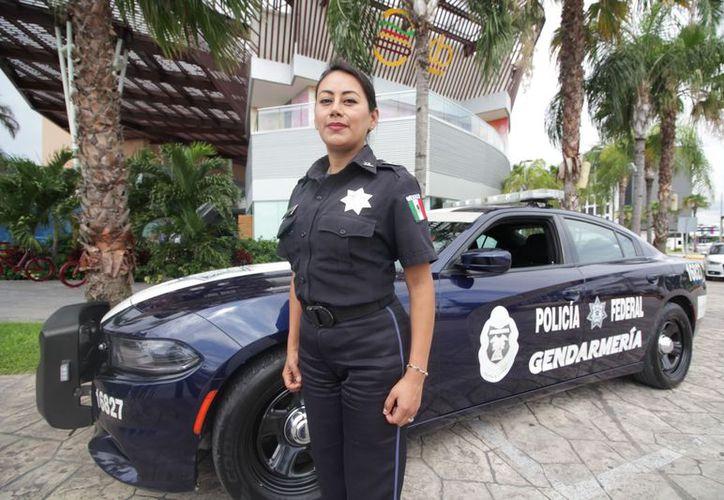 Evelina Fernández está comisionada en la isla de Cozumel. (Redacción/SIPSE)