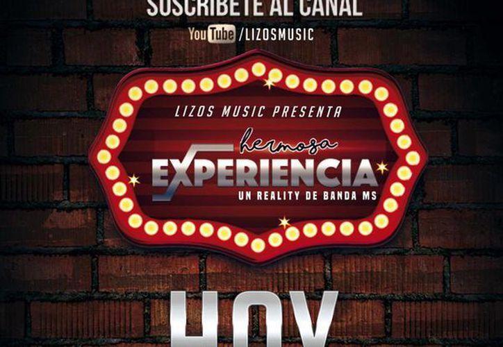 'Hermosa experiencia' consta de 15 capítulos y será emitida por internet. (Facebook/Banda MS)