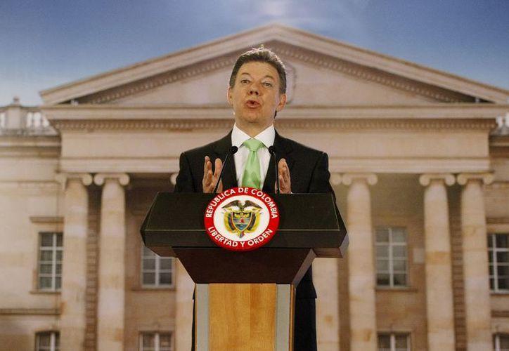 Presidente colombiano Juan Manuel Santos. (EFE)