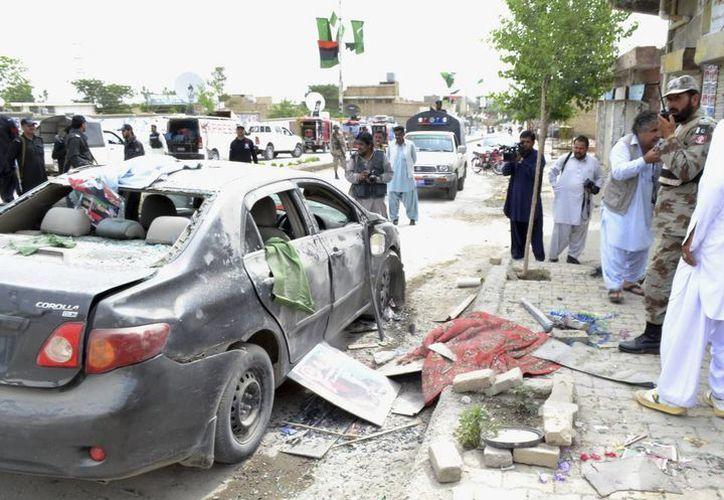 Los ataques con bombas contra los candidatos se han registrado especialmente en Quetta, Panjgur, Gawadar, Hangu y Peshawar. (EFE)