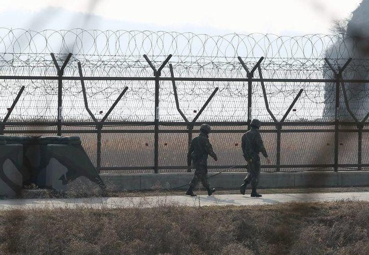 Vista de la base de Punggye-ri, en el noreste de Corea del Norte, donde se ha detectado un sismo en torno a 5 grados de magnitud en la escala Richter. (EFE/Archivo)