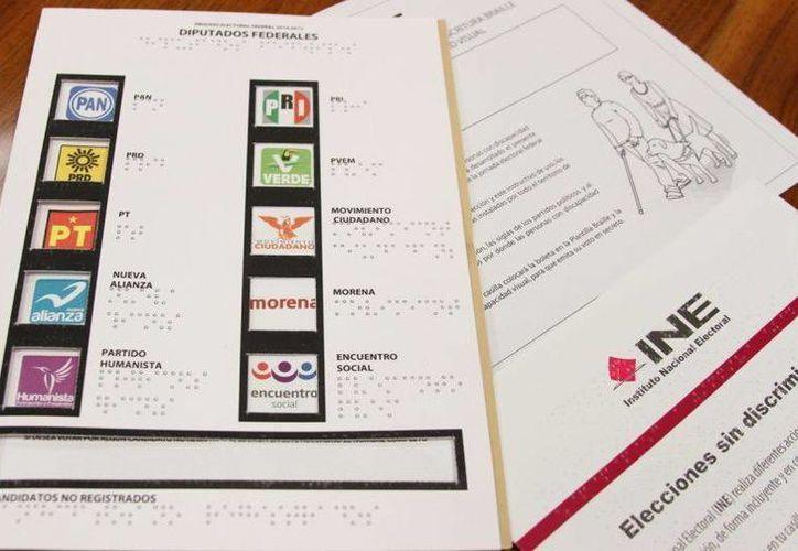 Las boletas con sistema braille se entregarán a las personas que, de acuerdo al tipo de discapacidad que padezcan, las necesiten. (Imagen de contexto/Internet)