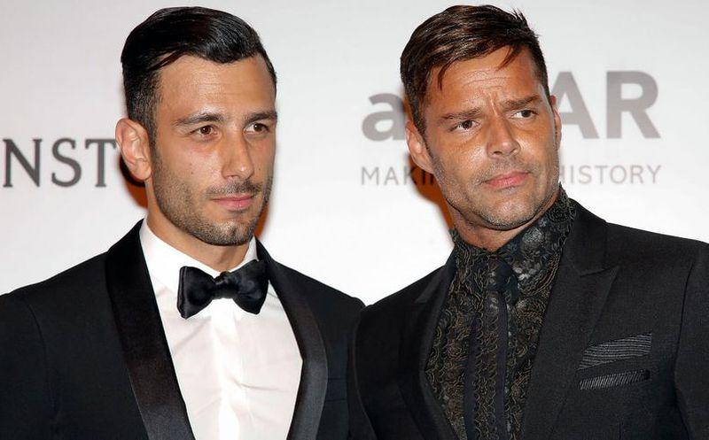 Así celebró Ricky Martin sus 46 años