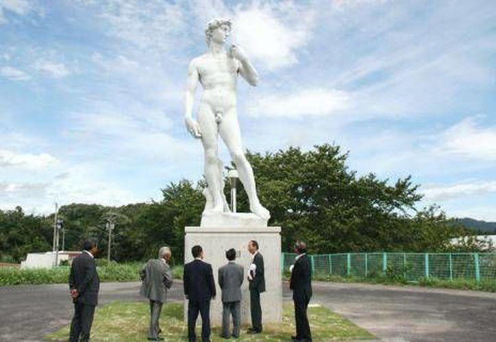 Las esculturas fueron donadas por un empresario local. (www.taipeitimes.com)