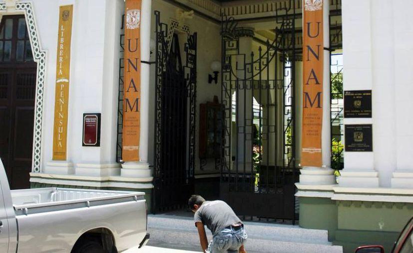 La UNAM ofrecerá planes de estudio a yucatecos que no puedan  asistir a un programa educativo presencial. Imagen del Centro Peninsular en Humanidades y Ciencias Sociales (Cephcis), de Mérida. (SIPSE)