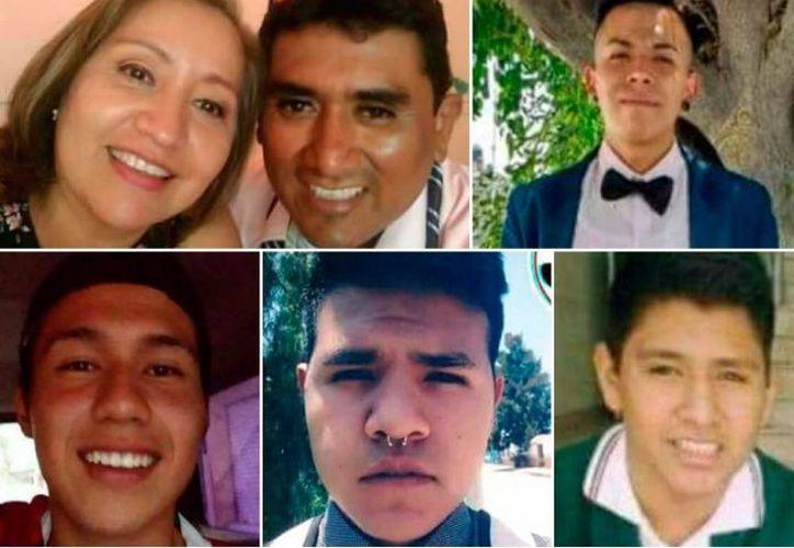 En redes sociales se difunden fotografías de los desaparecidos, no hay rastro de ellos. (El Debate)