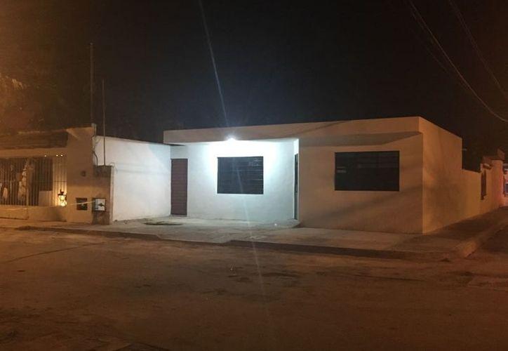 La vivienda se encuentra en la avenida Puerto Juárez, Supermanzana 200. (Redacción)