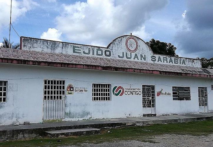 El comisario ejidal de Juan Sarabia fue declarado culpable del delito de agresión en contra de un grupo de ejidatarios. (Javier Ortiz/SIPSE)