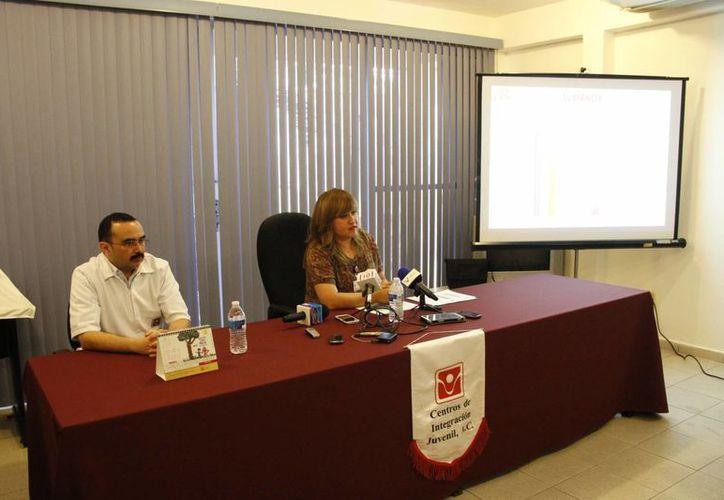El Centro de Integración Juvenil presentó su informe anual. (Tomás Álvarez/SIPSE)