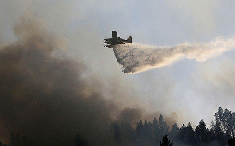 Protección Civil espera controlar incendio centro Portugal en próximas horas