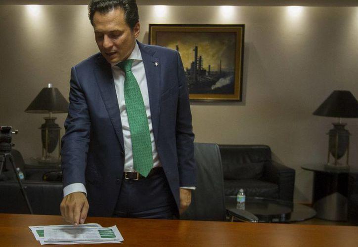 Lozoya Austin: la reforma energética promovida por el presidente Enrique Peña Nieto comienza a dar resultados en el camino de alcanzar dos de sus objetivos principales: el crecimiento de Pemex y la promoción de inversión en infraestructura. (Notimex/Foto de archivo)