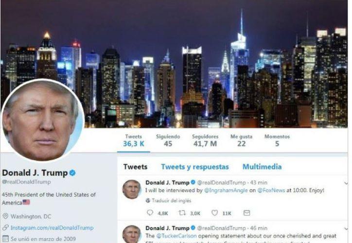 La cuenta oficial de la Casa Blanca @POTUS, que tiene 20,9 millones de seguidores, no fue aparentemente afectada. (Vanguardia)