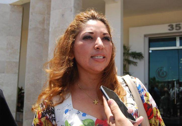La expresidenta municipal de Lázaro Cárdenas, Trinidad García Argüelles, quedará a deber cinco millones de pesos de la cuenta pública 2012. (Harold Alcocer/SIPSE)