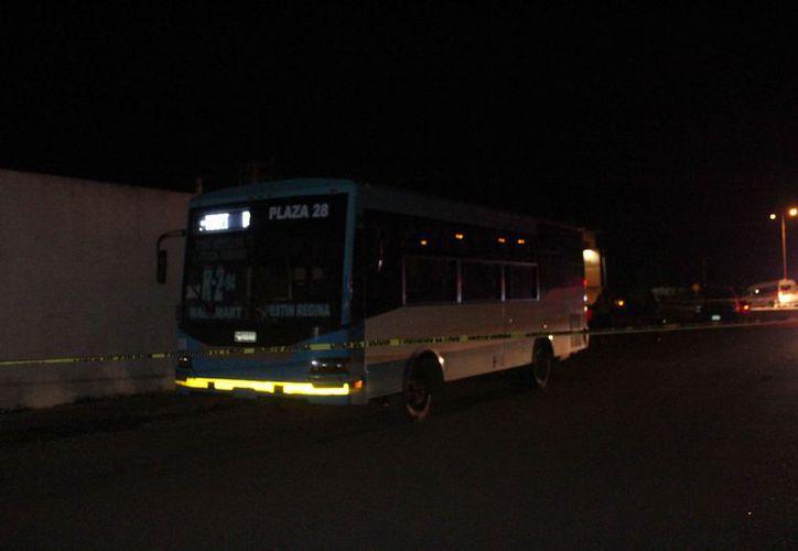 El conductor asaltado cubría la ruta 2 de la zona hotelera. (Redacción/SIPSE)