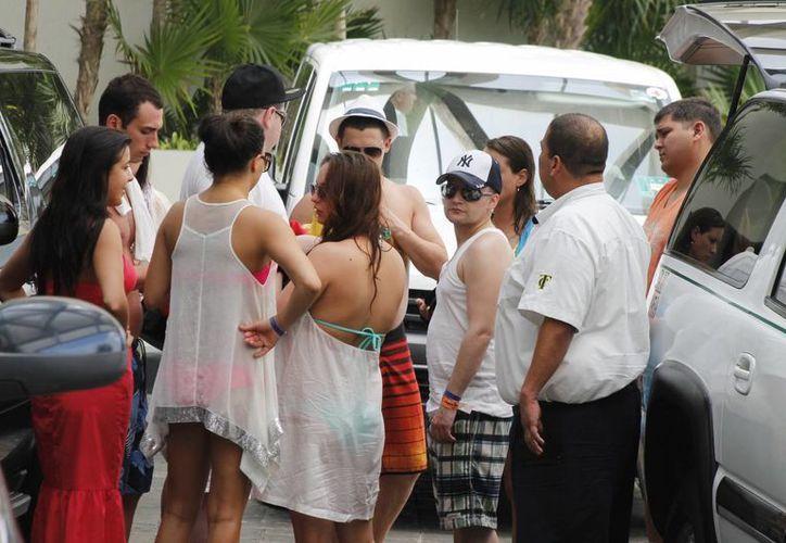 El turismo nacional es el segundo más importante para Quintana Roo. (Tomás Álvarez/SIPSE)
