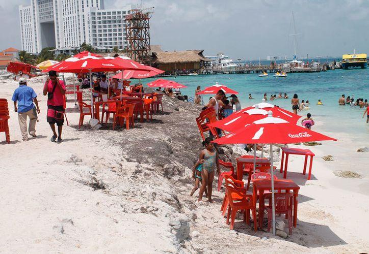 La obra se pretendía realizar en playa Tortugas. (Israel Leal/SIPSE)