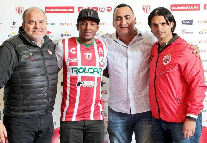 El delantero colombiano Gustavo Culma será el nuevo refuerzo de Necaxa. (Foto: Televisa)