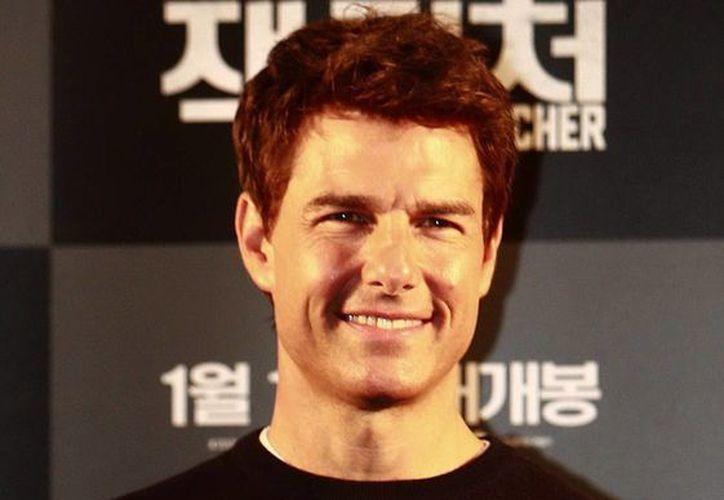 """En """"Oblivion"""" Cruise compartirá créditos principales con Morgan Freeman y Melisa Leo. (EFE)"""