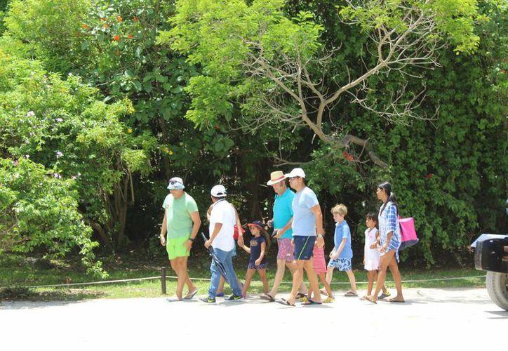 El objetivo es garantizar la seguridad física de los visitantes. (Sara Cauich/SIPSE)
