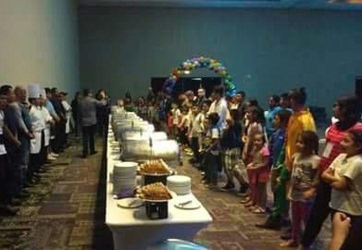 La Fundación Ciudad de la Alegría recibió esta semana diversas visitas de voluntarios y empresas. (Redacción/ SIPSE)