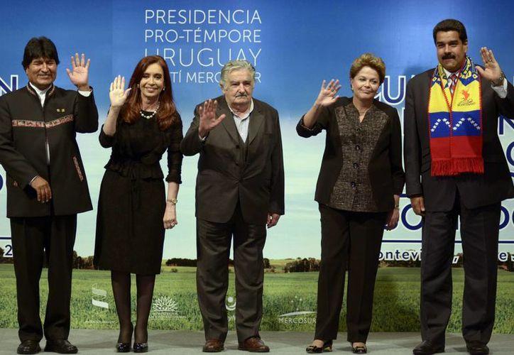 Aseguró Maduro que la integración de Venezuela al bloque es un logro de Chávez. (Agencias)