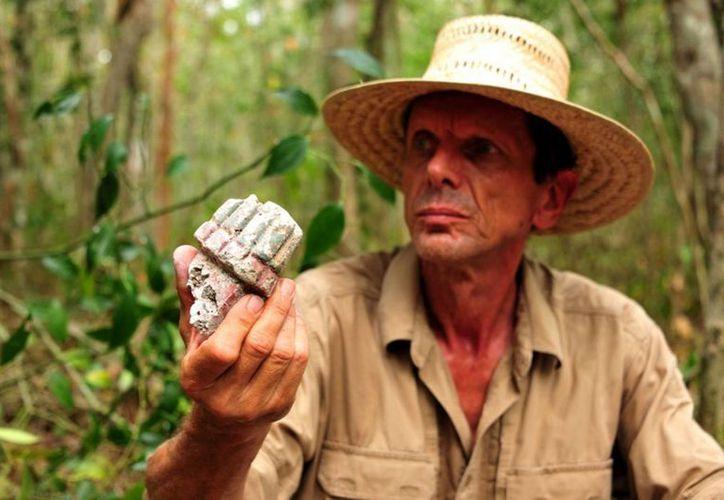 Varios extranjeros que vienen a México son especialistas que colaboran en excavaciones e investigaciones arqueológicas. (Archivo Notimex)