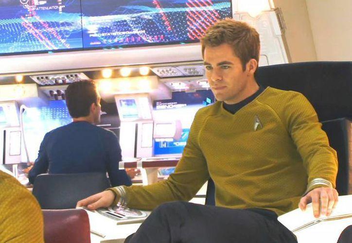 Chris Pine es uno de los protagonistas de Star Trek Beyond, que se filmó en Dubai y que llegaría a los cines en julio de 2016. (fanpop.com)