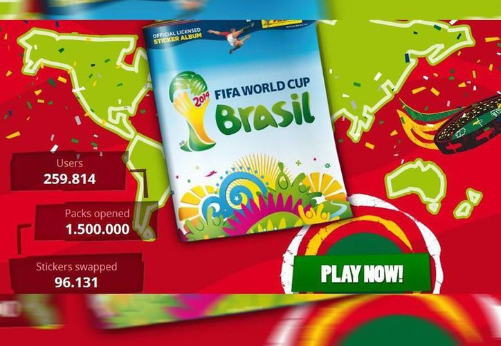 Álbum del Mundial de Futbol Brasil 2014 impreso por Panini. Hay también en versión digital (@fifacom_es)