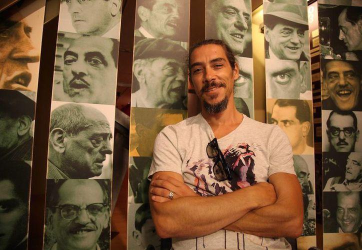 'Cantinflas', dirigida por Sebastián del Amo, obtuvo dos galardones en el XI Festival Internacional de Cine de Calanda. En la imagen, el actor Oscar Jaenada, quien interpretó al mimo mexicano. (Archivo/Notimex)