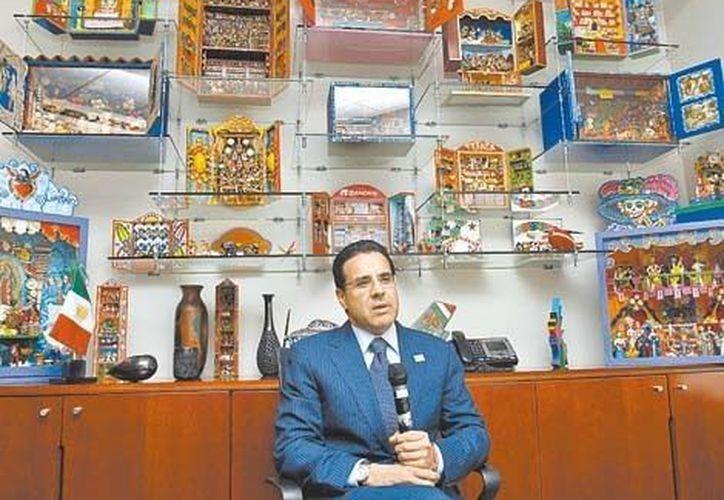 Alejandro Valenzuela, director general de Grupo Financiero Banorte. (Milenio)