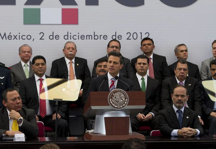 El Pacto por México fue firmado el 2 de diciembre de 2012. (Archivo/Notimex)